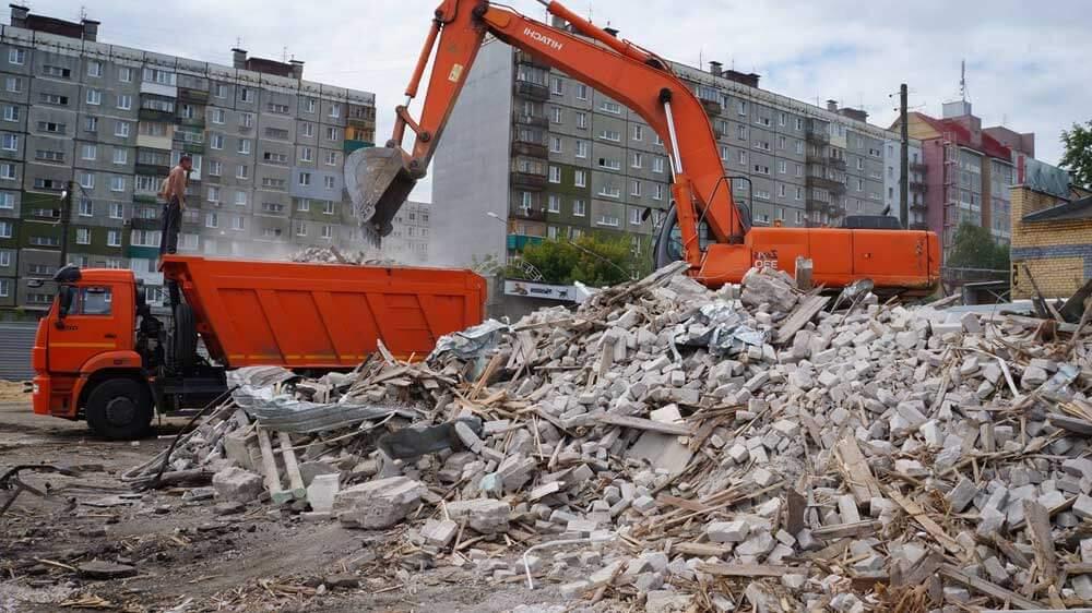 Утилизация кирпича бетона бетон долгопрудный купить